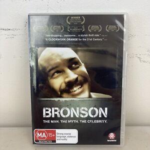 Bronson (DVD, 2010) Region 4 LIKE NEW