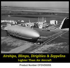 Navy-Airships-Zeppelins-Dirigibles-Blimps-Rare-footage-Airship-old-films