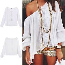 Cotton Blend Blouses Singlepack Tops & Shirts for Women