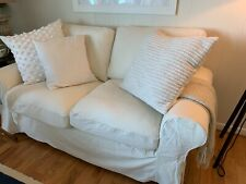 IKEA Uppland Sofa & Loveseat Cover-Custom Made in Off-White Color BOTH SETS