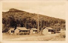 NH - VERY RARE! 1930's Over Night Camps Indian Head Lincoln, New Hampshire