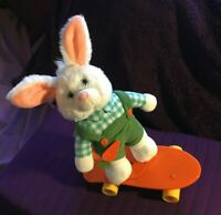 Collectible Bunny On a Skateboard Electronic