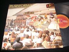 PLATAFORMA 1<>UM SHOW DE BRASIL<>RARE Lp Vinyl ~Brasil Pressing<>KELO KTB 1009