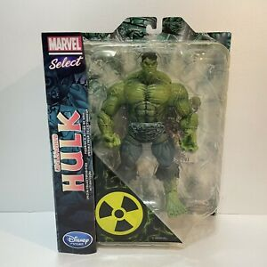 Unleashed Hulk Collectors Action Figure Disney Store Exclusive - Marvel Select