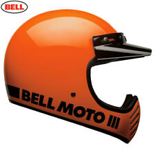 Bell 2020 Cruiser Moto 3 Adult Helmet Classic Orange Size Small Free UK Post
