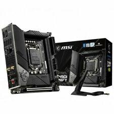 MSI MEG Z490I UNIFY, LGA 1200, Intel (MBMS-Z490I-UNI) Motherboard