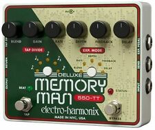 Electro-Harmonix Deluxe Memory Man Tap Tempo 550 Delay Guitar Effect Pedal
