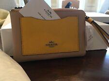 New coach wristlet purse clutch