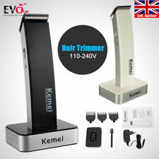 KEMEI Men Cordless Electric Rechargeable Hair Clipper Trimmer Beard Shaver Razor