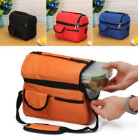 NICE 8L Insulated Lunch Bag Coolbag Work Picnic Adult Kids Food Storage Lunchbox