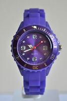 Montre Enfants Filles Garçons Bracelet Silicone Petit Watch Couleur VIOLET