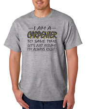 I Am A Carpenter Assume I'm right Save Time HoneVille Unisex T-shirt Youth
