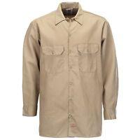 Dickies - Long/S Work Shirt Khaki Arbeitshemd Hemden