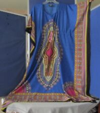 EUC Gorgeous CAFTAN Free Size By NF Multi-Color w. Little BLING