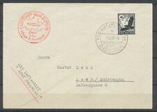 1-12-1938 envelop by LUFTSCHIFF GRAF ZEPPELIN Superb 100pf Black H2373