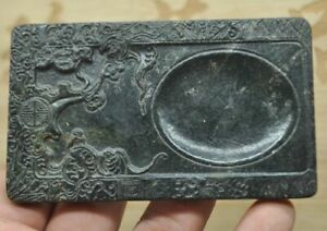 Chinese old natural jade hand-carved statue Pendants~landscape