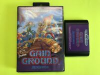 GAIN GROUND Sega Genesis Game AUTHENTIC! US Seller