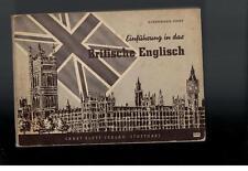 Eckermann-Piert - Einführung in das Britische Englisch - 1951