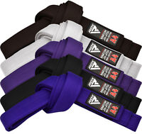 RDX Jiu Jitsu GI Belts BJJ Brazilian Fight Uniform Belt 100% Cotton MMA US