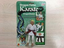 1985 Lanard Toys Dragon Force Kung-Fu DragonMaster White Vintage Action Figure
