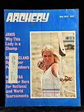 VINTAGE COLLECTIBLE Archery Magazine MAY 1975 Archery & Hunting