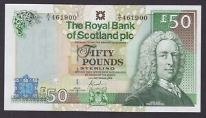 2005 ROYAL BANK OF SCOTLAND plc 'Inverness Castle' £50 - GOODWIN - perfect UNC