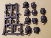 Warhammer 40k Space Marine Bits: Veteran Deathwatch Torsos w/Ammo Packs x5