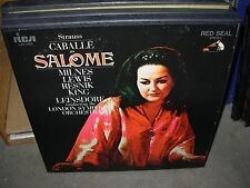 LEINSDORF / CABALLE / STRAUSS salome ( classical ) 2lp box rca
