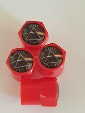 Pink Floyd Rouge Valve Capuchons Anti-Poussière Plastique Non Stick 5 Couleurs Dark Side of the Moon
