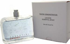 LACOSTE ESSENTIAL SPORT by Lacoste 4.2 oz, 125 ml Eau De Toilette Spray  Men NIB