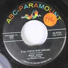 15.2mS & 18.3mS 45 Micki Marlo - It All Started con Su Kiss / Little By On
