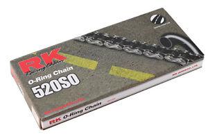 catena trasmissione moto cross enduro Rk 520 So o-ring nero passo 520 KTM CR YZ
