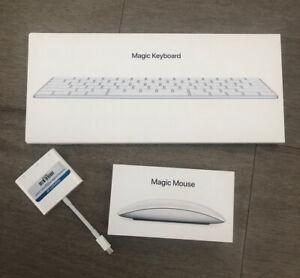 Apple Magic Keyboard A1644 and Magic Mouse 2 A1657 Set