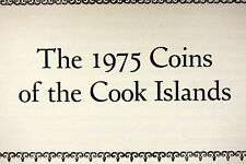 1975 - Cook Islands Proof Set Issued By The Franklin Mint/Box/Coa! #I1984