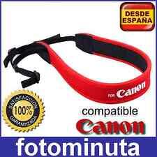 Correa de Neopreno Camara Canon EOS 1300D 5D 70D 60D 400D 600D 1200D 1300D DSLR