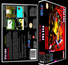 Run Saber  - SNES Reproduction Art Case/Box No Game.