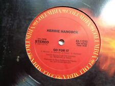 """HERBIE HANCOCK ~STARS IN YOUR EYES / GO FOR IT~1980 DISCO CLASSIC 12"""" VG+"""