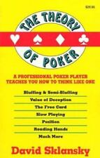 The Theory of Poker (Paperback or Softback)