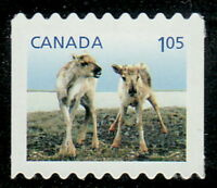 Canada #2507ii Baby Wildlife : Caribou Die-Cut from Coil MNH