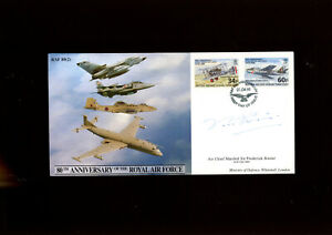 1998 RAF cover signed by Air Chief Marshal Sir Frederick Rosier GCB CBE DSO