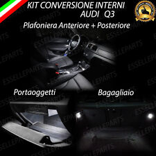 KIT FULL LED INTERNI AUDI Q3 KIT COMPLETO 6000K 100% NO AVARIA LUCI