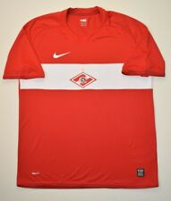 4.7/5 Spartak Moscow 2009~2010 Original Football Home Shirt Jersey Nike Size L