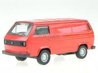VW T3 Kasten rot Modellauto 43687 Welly 1:34