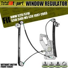 Power Window Regulator W/o Motor for BMW E39 525i 528i 530i 540i M5 Front Right