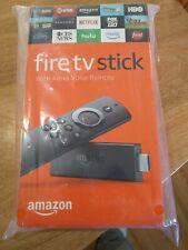 Brand New amazon fire tv stick with alexa voice remote - unopened orig pkg Nice!