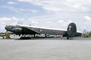 "RAF 205 Squadron Avro Shackleton MR.2 ""J"" (1970) Photograph"