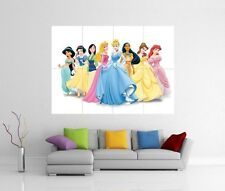 DISNEY Princess Giant WALL ART PICTURE FOTO STAMPA POSTER J84