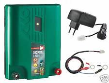 Elektrozaun Netzgerät+Akkugerät Stromgerät Gartenzaun
