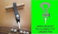 Guitar Bridge Pin Puller. Bridge Pin Remover. Adjustable Jaws. TF030