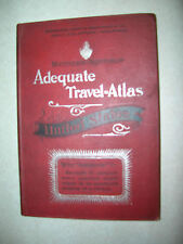 1893 Adequate Travel Atlas United States with Maps